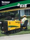 D6x6 NAVIGATOR® Horizontal Directional Drill Literature