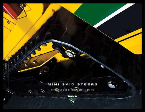 Mini Skid Steer Literature