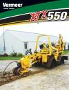 RTX550 Ride-On Tractor Product Literature