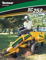 SC252 Stump Cutter Literature - 1