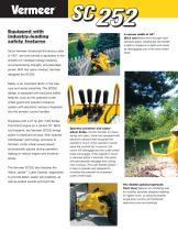 SC252 Stump Cutter Literature - 2
