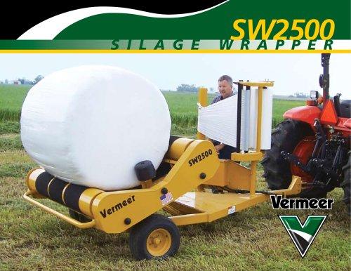 SW2500 Silage Bale Wrapper