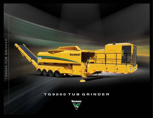 TG9000 tub grinder