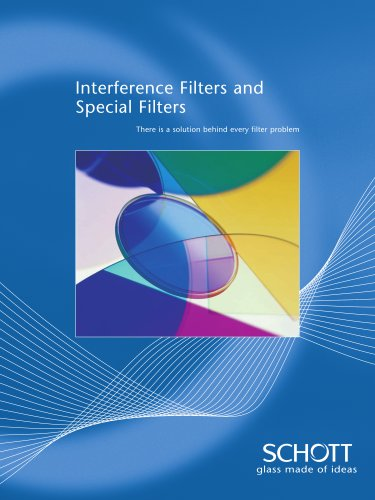 Interference Filters and Special Filters Catalogue