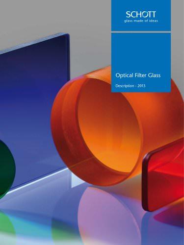 Optical Filter Glass - Description - 2013