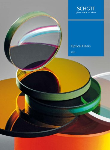 Optical Filters 2013 - Catalogue