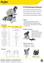 PT-051 welding positioner