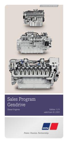 Sales Program Gendrive - MTU Friedrichshafen - PDF Catalogs