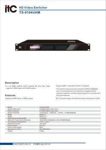 TS-9104UHM