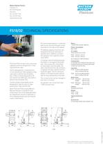 Flexicon FS10/32 tabletop crimp capping system - 2
