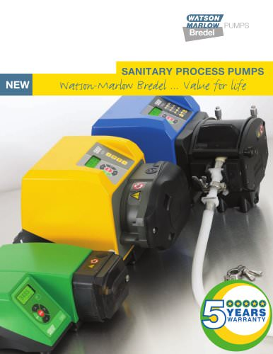Sanitary process pumps catalogue