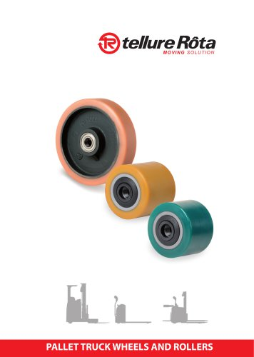 PALLET TRUCK WHEELS AND ROLLERS