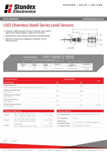 LS02-S Series Data Sheet