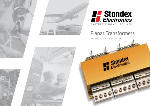 Product Line Brochure Planar Transformers