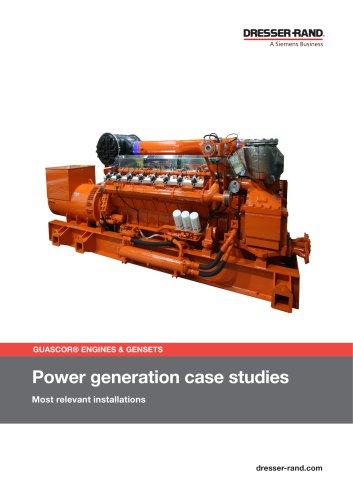 POWERGEN CASE STUDIES SUMMARY