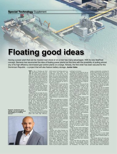 SeaFloat Power Plants