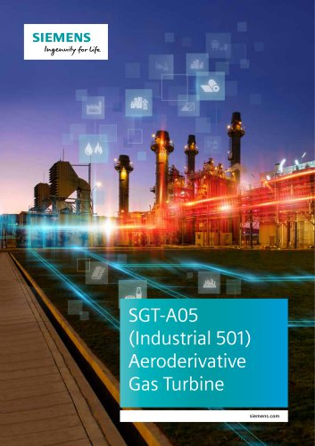 SGT-A05 Aeroderivate Gas Turbine
