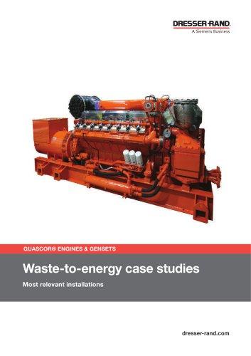 WASTE TO ENERGY CaseStudies SUMMARY