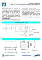 Model C2175A PT1000C 24Vdc PSU/Battery Charger - 2
