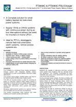 Model C2176B PT2000C 24Vdc PSU/Battery Charger - 1