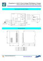 Model C2197B PT L120C-D Dual PSU/Battery Charger - 2