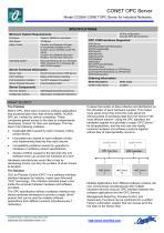 Model CC026A CONET OPC Server - 2