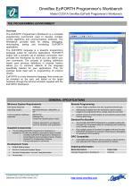 Model CC031A EziForth Programmers Workbench - 2