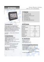 Model MT6050i OIT 4.3 Inch - 1