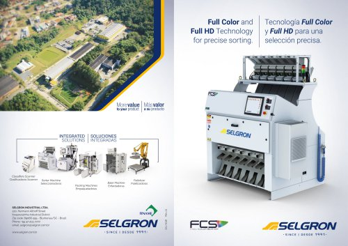 Full Color and Full HD Technology for precise sorting.