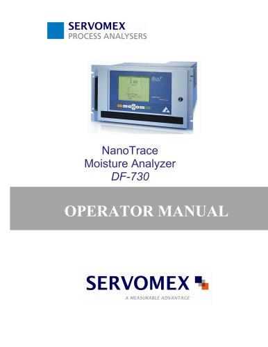 DF-730 Operator Manual