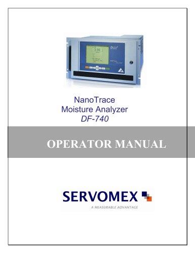 DF-740 Operator Manual