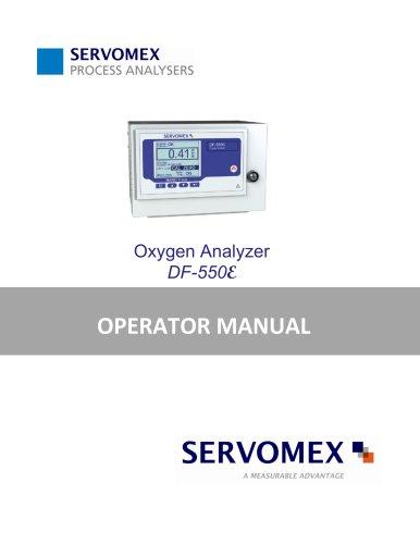 DF550E Operator Manual 082616