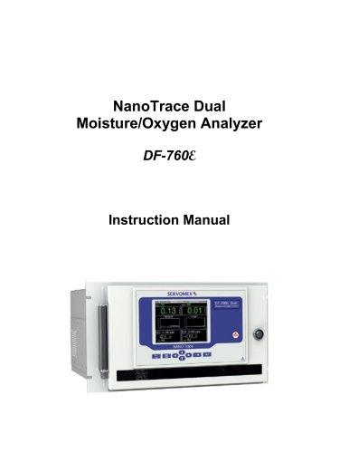 DF760E Operator Manual