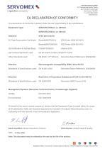 SERVOFLEX Micro i.s. 5100 Certification Manual 05100008A_5 - 11