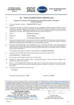 SERVOFLEX Micro i.s. 5100 Certification Manual 05100008A_5 - 13