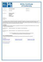 SERVOFLEX Micro i.s. 5100 Certification Manual 05100008A_5 - 24