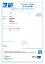 SERVOFLEX Micro i.s. 5100 Certification Manual 05100008A_5 - 27