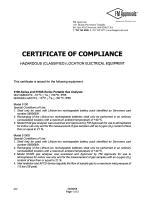 SERVOFLEX Micro i.s. 5100 Certification Manual 05100008A_5 - 35