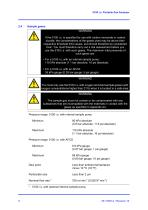SERVOFLEX Micro i.s. 5100 Operator Manual 05110001A_10 - 14