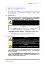 SERVOFLEX Micro i.s. 5100 Operator Manual 05110001A_10 - 7