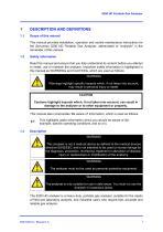SERVOFLEX MiniHD 5200 Operator Manual 05210001a_5 - 9