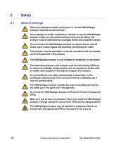 SERVOPRO 4900 Multigas Installation and Operator Manual Rev B04 - 16