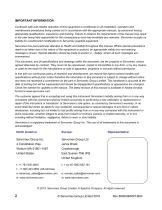 SERVOPRO 4900 Multigas Installation and Operator Manual Rev B04 - 2