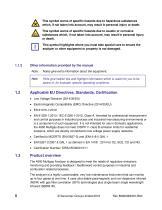SERVOPRO 4900 Multigas Installation and Operator Manual Rev B04 - 8