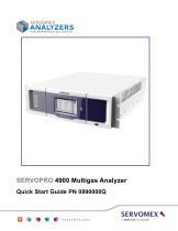 SERVOPRO 4900 Multigas Quick Start Guide Rev A05 - 1