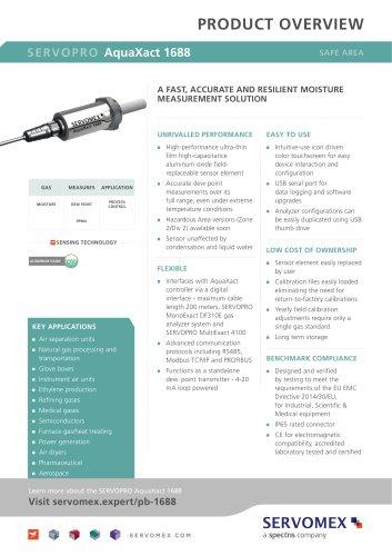 SERVOPRO AquaXact 1688 Product Brochure