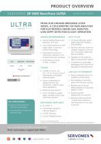 SERVOPRO DF-560E NanoTrace ULTRA Product Brochure - 1