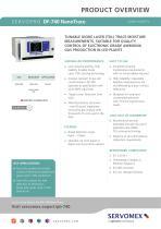 SERVOPRO DF-740 NanoTrace Product Brochure - 1