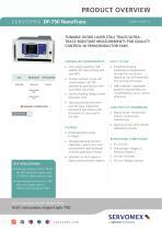 SERVOPRO DF-750 NanoTrace Product Brochure - 1