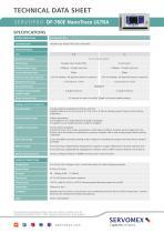 SERVOPRO DF-760E NanoTrace ULTRA Product Brochure - 3
